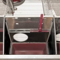 2 Sections Galvanized Carrier