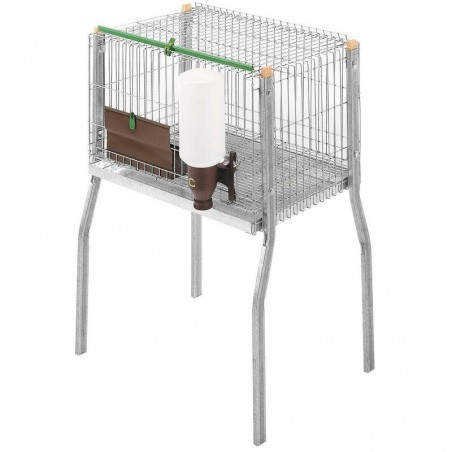 Mating Call Cage with Support and Drinker