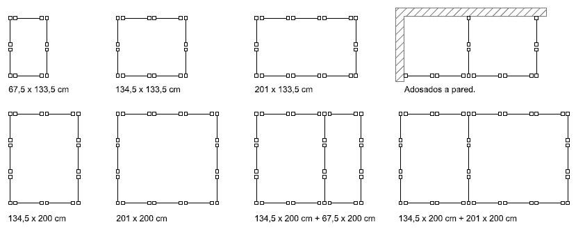 Combinaciones de boxes