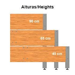 Cultivation Table Heights
