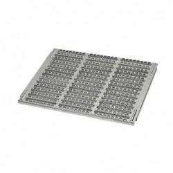 Metal floor for rabbit cage
