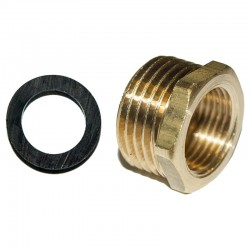 Brass Reduction M1/2 - H3/8