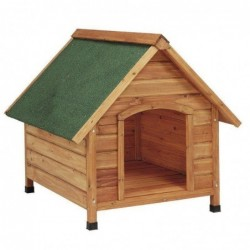 Pitched Roof Wooden Dog...