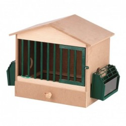 Partridge Wooden Cage