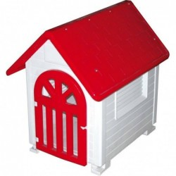 Dog Plastic Kennel with Door