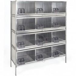 Cage de Mue 12 Departements