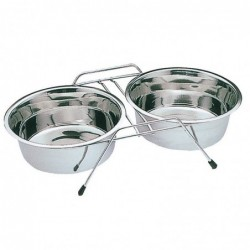 Dogs Double Feeder with...